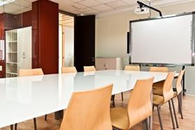 Sala de Reuniones del profesorados en INESEM Business School