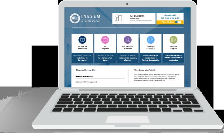 Desde INESEM te ofrecemos una Intranet para empresas donde gestionar la formación de tus empleados