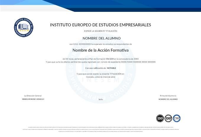 Titulacion de INESEM